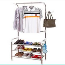 Epoxy Aluminium/Chrome Plated portable clothes rack target