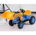 Crianças plástico pedal trator de brinquedo do carro, passeio em brinquedos de construção