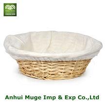 2014 wholesae barato nuevo diseño de cesta de mimbre bandeja para la venta