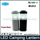 LED Lantern flashlight lantern power bank for camping, hunting, hiking