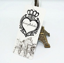 matte lamination jewelry hang tag