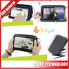 New Arrival Colorful Universal Zipper PU bag speaker with Speaker for 7 Inch Tablet PC