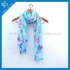 New design fashion wholesale print polyester scarf