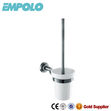 Nickel Stainless Steel Brush And Holder Set Toilet Brush Holders Accessories 626 10