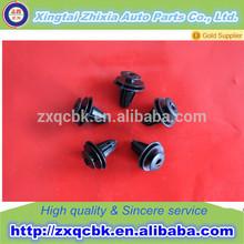 shape retaining plastic auto push plastic clip