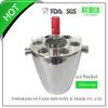 stainless steel ice bucket wine cooler wine holder