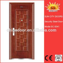 Deep Moulded glass insert garage doors SC-S041
