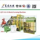 block making machine uk QT10-15 hollow blocks making machine