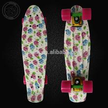 hot selling brand new adult mini custom skateboard,complete retro school cruiser