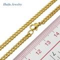 barato ouro 18k atacado cor chapeado médica açoinoxidável metal charme colar de jóias cadeia