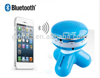 3W vibration massager with MP3 bluetooth speaker