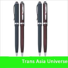 Top quality custom promotional thin metal ballpoint pen