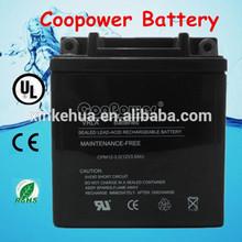 12 volt agm battery/12V 3AH Sealed Maintenance Free YB3L-BS Motorcycle Battery