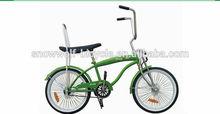 2014 Hot sale Bycicle 20 inch Beach Cruiser Bike 20 Lowrider bike SW-B-M07
