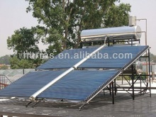high quality all glass horizontal evacuated tube solar collector