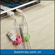Multi-purpose Cable Clips Bright Colors custom injection plastic clip mould