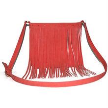 2014 Alibaba China Fashion Lady PU Leather Western Fringe Handbag