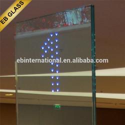modern lighting glass,LED glass for logo, EB GLASS