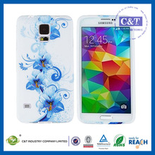Smartphone Case oem tpu+pc 2 in 1 protection case cover for samsung galaxy s5