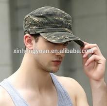 military mens style cap