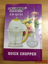 Hot sell Electric mini quick chopper, Fruit chopper, Meat chopper