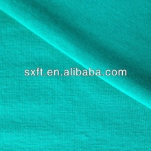 65% polyester and 35% rayon/viscose knit single jersey fabrics