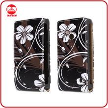 RF Manufacturer Stylish Designer Vertical Magnetic Flip Leather Case Cover for Nokia Lumia 520