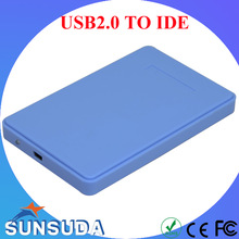 2.5'' IDE HDD Case Portable usb2.0 to IDE Hard Disk Case