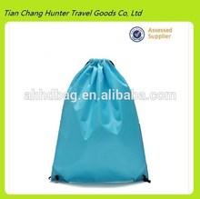 Promotion travel shoe drawstring bag , cinch bag