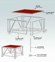 2014 cheap aluminum lighting stage trusses