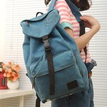 2014 Summer Designer Vintage Unisex backpack Casual Canvas backpack travel bag factory price wholesale