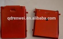 2x Car Caravan motor home horsebox Trailer wheel chock pair Metal