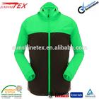 adult foldable waterproof rain jacket raincoat with hood