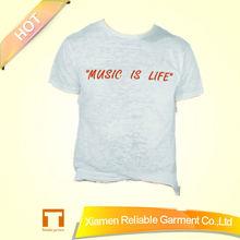 China products! sunmmer new fashion kids plain t shirts