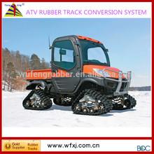 ATV conversion system kits/ small vehicle rubber track system / UTV track kits manufacturer