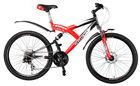 0 import duty to EU Hacker Sport Light Red steel mountain bike