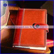 Manager genuine leather organiser,office document planner,custom folder