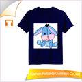 Chaude! Mode 2015 100% enfants coton t- shirts, modèle de dessin animé