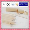 Natural wooden color pencil set,school darwing color pencil set ,pencil supplier ,free sample