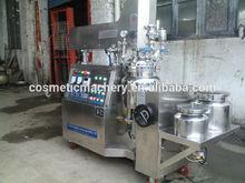 Lotion making machine, 1000L fixed homogenized vacuum emulsifying machine, cosmetic cream mixer