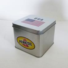 Metallic tin box for food packaging tin
