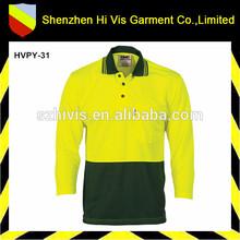 custom wholesale long sleeve polo supplier