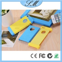 2 in 1 Case for iPhone 5 5s Colorful Carapace Cover For Apple