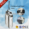 Fractional CO2 laser skin rejuvenation device
