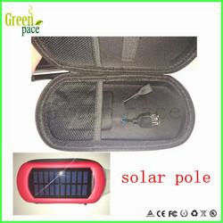 2014 Newest design colorful save energy solar energy ego case solar power zipper case