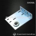 Oem furnithure auto parede galavnized eu/c/y/h/u alumínio/aço/bronze açoinoxidável personalizado metal suporte de montagem