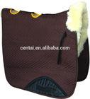Sheepskin saddle cloth