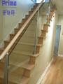 Facile da installare vetro ringhiera scale di cemento(pr- b1080)