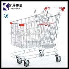 160L Australian style supermarket shopping cart