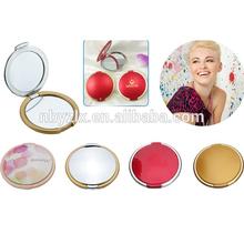 Round compact mirror / Small hand mirrors / Small plastic pocket mirror